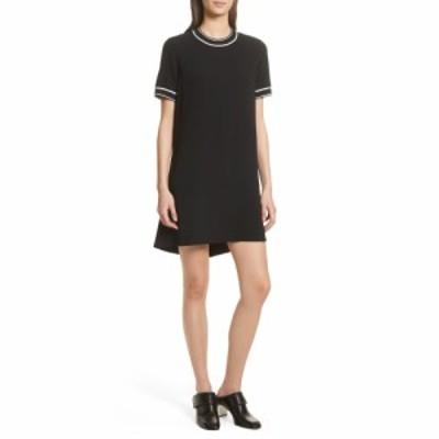 ラグandボーン RAG and BONE レディース ワンピース シフトドレス ワンピース・ドレス Thatch Crepe Shift Dress Black