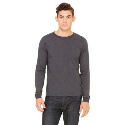 ユニセックス 衣類 トップス Bella + Canvas 3501 Long Sleeve Jersey Tee Tシャツ