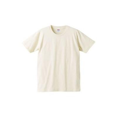 (ユナイテッドアスレ)UnitedAthle 5.0オンス レギュラーフィット Tシャツ 540101 019 ナチュラル M