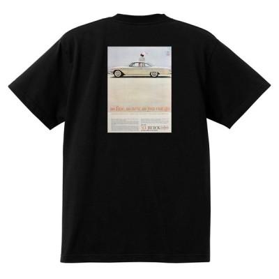 アドバタイジング ビュイック 239 黒 Tシャツ 1961 ルセーブルワイルドキャット スカイラーク