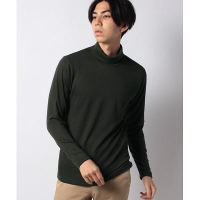 (COMME CA ISM MENS/コムサイズムメンズ)タートルネック Tシャツ/メンズ カーキ