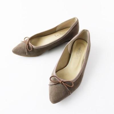 Le Talon ルタロン スエード パンプス/シューズ グレージュ 靴 2400020093897