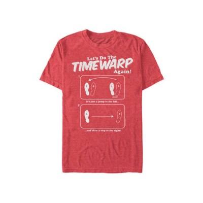フィフスサン メンズ Tシャツ トップス Rocky Horror Picture Show Time Warp Instructions Short Sleeve Graphic T-Shirt