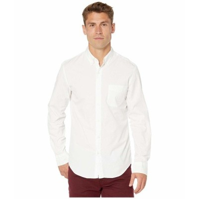 ジェイクルー シャツ トップス メンズ Slim Stretch Secret Wash Shirt in Organic Cotton White