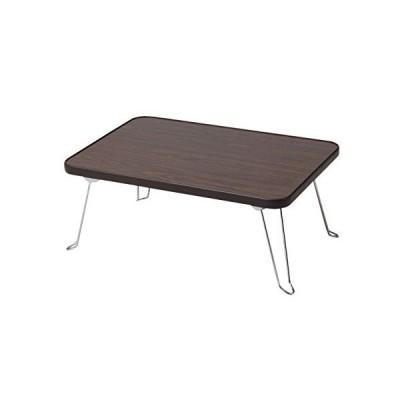 メラミンテーブル4530 ブラウン K-4500