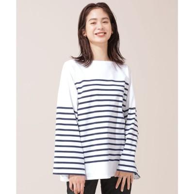 Le Minor/別注ボーダーTシャツ 長袖 ネイビー