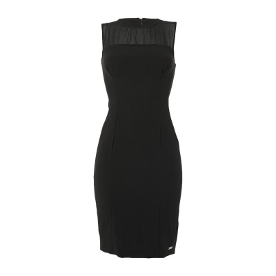 メット MET JEANS ミニワンピース&ドレス ブラック XS ポリエステル 90% / ポリウレタン 10% ミニワンピース&ドレス