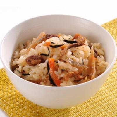 【送料無料】【メール便】鶏十目ご飯の素 500g(1升用) (rns257693)具材感たっぷりのおいしいごはんをいただけます。