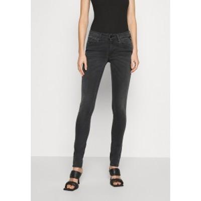 リプレイ レディース デニムパンツ ボトムス NEW LUZ RE-USED - Jeans Skinny Fit - medium grey medium grey