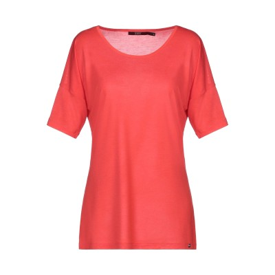 SEVENTY SERGIO TEGON T シャツ 赤茶色 46 90% レーヨン 10% シルク T シャツ