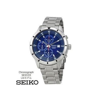 セイコー seiko 腕時計 レア 海外USモデル セイコークロノグラフ SKS559