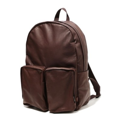 ability / MR.OLIVE ミスターオリーブ / E.O.I / WATER PROOF LIGHT LEATHER / URBAN DAY PACK 【撥水レザー】ウォータープルーフ ライトレザー/アーバン デイパック リュックサック / ME694 MEN バッグ > バックパック/リ