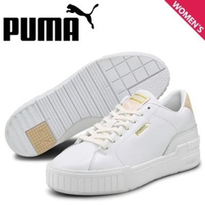 PUMA プーマ カリ スニーカー レディース CALI SPORT CLEAN SD ホワイト 白 374947-02