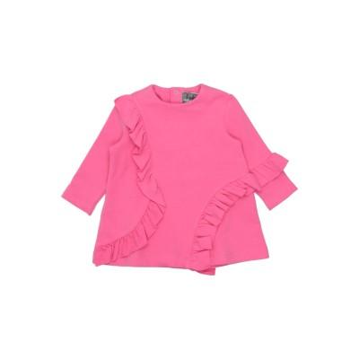 IL GUFO スウェットシャツ フューシャ 9 コットン 95% / ポリウレタン 5% スウェットシャツ