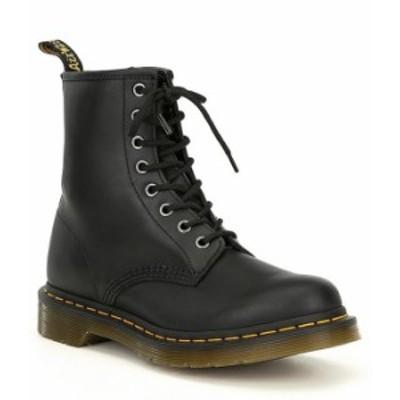 ドクターマーチン レディース ブーツ・レインブーツ シューズ Women's 1460 Black Nappa Combat Boots Black Nappa