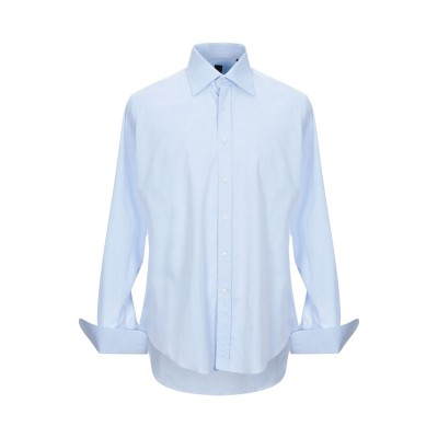 CIT LUXURY シャツ アジュールブルー 44 コットン 100% シャツ