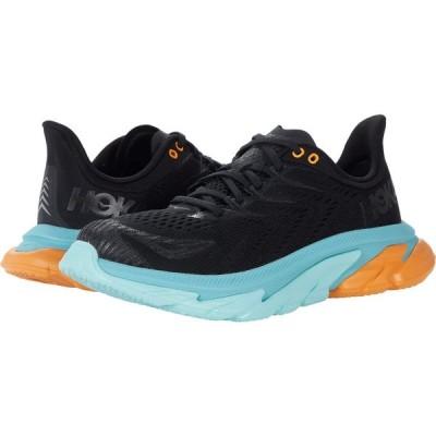 ホカ オネオネ Hoka One One メンズ ランニング・ウォーキング シューズ・靴 Clifton Edge Black/Aquarelle