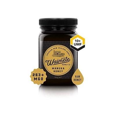 (Waimete Honey) (ワイメテハニー) マヌカハニーUMF10+ MGO263+ (500g) (500g)