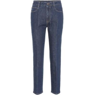 ステラ マッカートニー Stella McCartney レディース ジーンズ・デニム ボトムス・パンツ High-waisted jeans Midnight