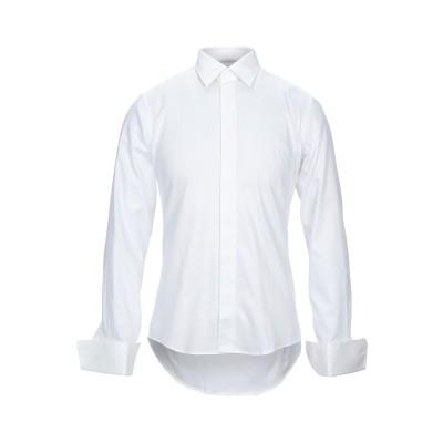 PAL ZILERI CERIMONIA シャツ ホワイト 40 コットン 100% シャツ