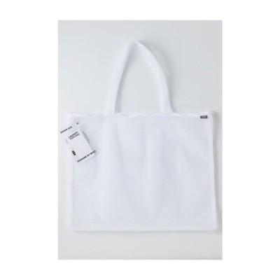 MOYO / モヨウ moyo/ LAUNDRY BAG TOTE WHITE / ランドリーバッグ トート 52x40cm ホワイト /クリーニングバッグ 日本製