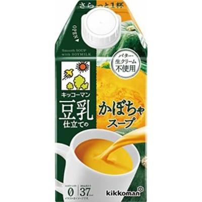 キッコーマン 豆乳仕立てのかぼちゃスープ500ml*12