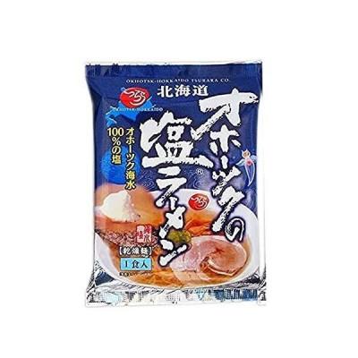 オホーツクの塩ラーメン 1袋 北海道 しお インスタント ラーメン らーめん 袋麺 サタプラ マツコの知らない世界