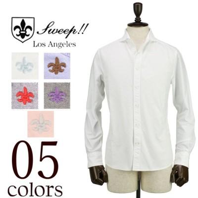 スウィープ ロサンゼルス Sweep!! LosAngeles  メンズ ホリゾンタルカラー オックスフォードシャツ Oxford-HZ(5colors)