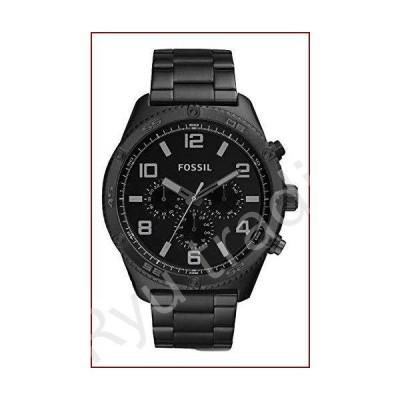 新品Fossil Brox 多機能ブラックステンレススチール腕時計 BQ2532