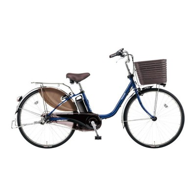 PANASONIC BE-ELD636-V2 Pファインブルー ビビ・DX [電動アシスト自転車(26インチ・内装3段)] 電動自転車