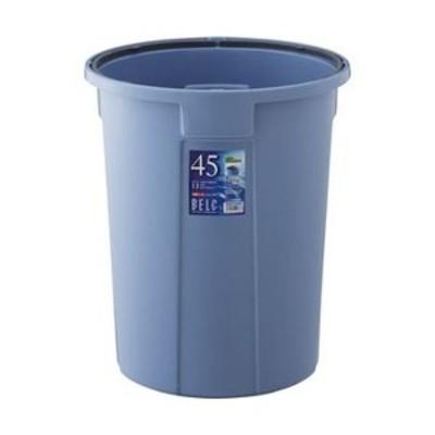 まとめ売りリス ベルク 丸型 45L 本体 ブルーDS-920-001-3 1台(フタ別売) ×5セット 生活用品 インテリア 雑貨 日用雑貨 ゴミ箱[▲][TP