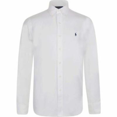 ラルフ ローレン POLO RALPH LAUREN メンズ シャツ トップス Pinpoint Oxford Shirt White