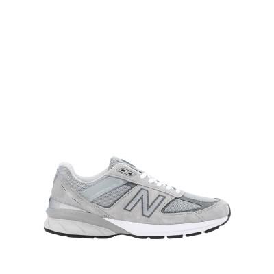 ニュー・バランス NEW BALANCE スニーカー&テニスシューズ(ローカット) グレー 10 革 / 紡績繊維 スニーカー&テニスシューズ(ロー