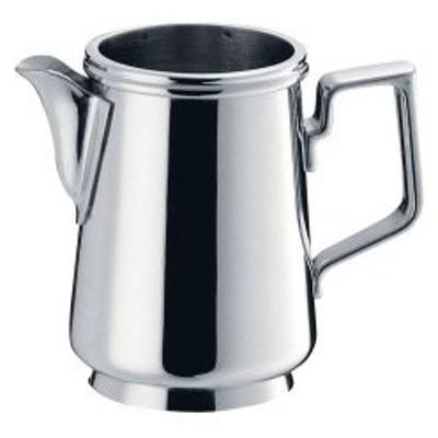 コーヒー器具 コーヒー用品 ステンレス製 C型ミルクポット 蓋無  3人用 ミルクピッチャー(7-1842-2101)