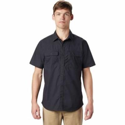 マウンテンハードウェア Mountain Hardwear メンズ 半袖シャツ トップス J Tree SS Shirt Dark Storm