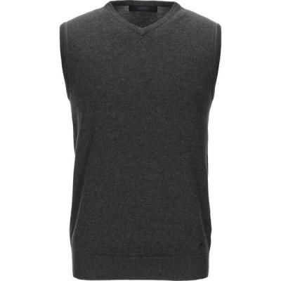 リウジョー LIU JO MAN メンズ ベスト・ジレ トップス sleeveless sweater Steel grey