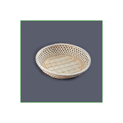 籐カゴ サンド皿 33ー167 丸型 直径210×H45/業務用食器/新品