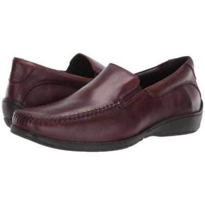 ジョンストン&マーフィー Johnston & Murphy メンズ ローファー シューズ・靴 Crawford Venetian Mahogany Tumbled Full Grain