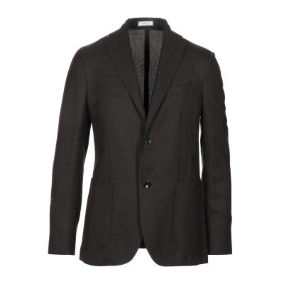 ボリオリ BOGLIOLI テーラードジャケット ダークブラウン 48 ウール 100% テーラードジャケット