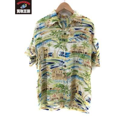 SUN SURF JOHN SEVERSON アロハシャツ【L】
