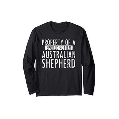 オーストラリアの恋人の犬のための愛らしいオーストラリアンシェパードの贈り物 長袖Tシャツ