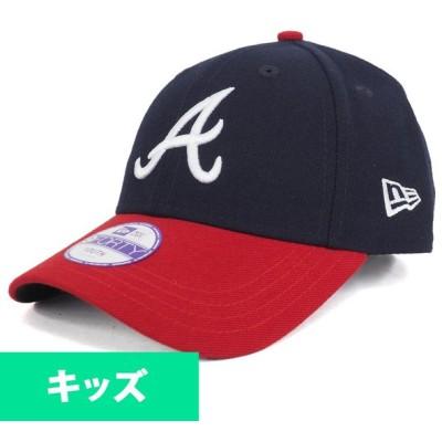 ブレーブス キャップ ニューエラ NEW ERA  MLB ・ジュニア ザ・リーグ 9FORTY アジャスタブル