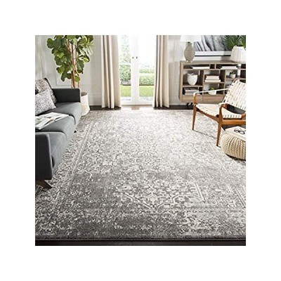 Safavieh Evoke Collection EVK256D Oriental Distressed Non-Shedding Stain Re
