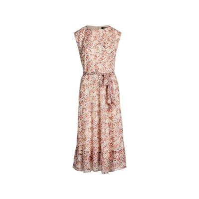LAUREN RALPH LAUREN 7分丈ワンピース・ドレス ライトピンク 2 ポリエステル 100% 7分丈ワンピース・ドレス