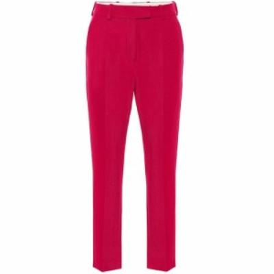 ラシル Racil レディース ボトムス・パンツ Oscar mid-rise straight wool pants Raspberry