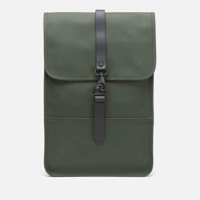 レインズ RAINS メンズ バックパック・リュック バッグ Mini Backpack Green