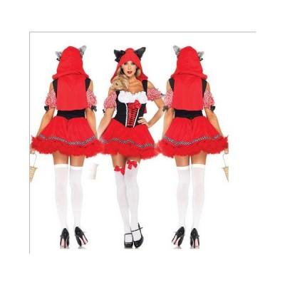 ハロウィーンHalloween ハロウィン万聖節レディースパーティー用仮装クリスマス演出服 コスプレクレ巫女 悪魔 魔女