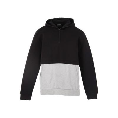 カールラガーフェルド KARL LAGERFELD スウェットシャツ ブラック L コットン 60% / ポリエステル 40% スウェットシャツ