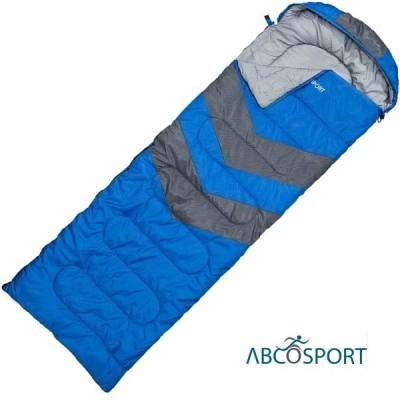 ABCOSPORT スリーピングッド 寝袋 シュラフ 青 オールシーズン 防水 災害対策 キャンプ アウトドア