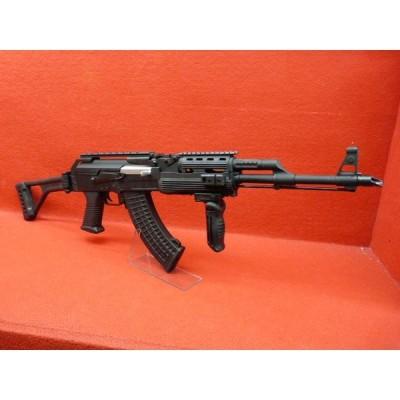 AK47タクティカルRASトップレールフォールディングストック・メタルレシーバー電動ガン 電動ガン